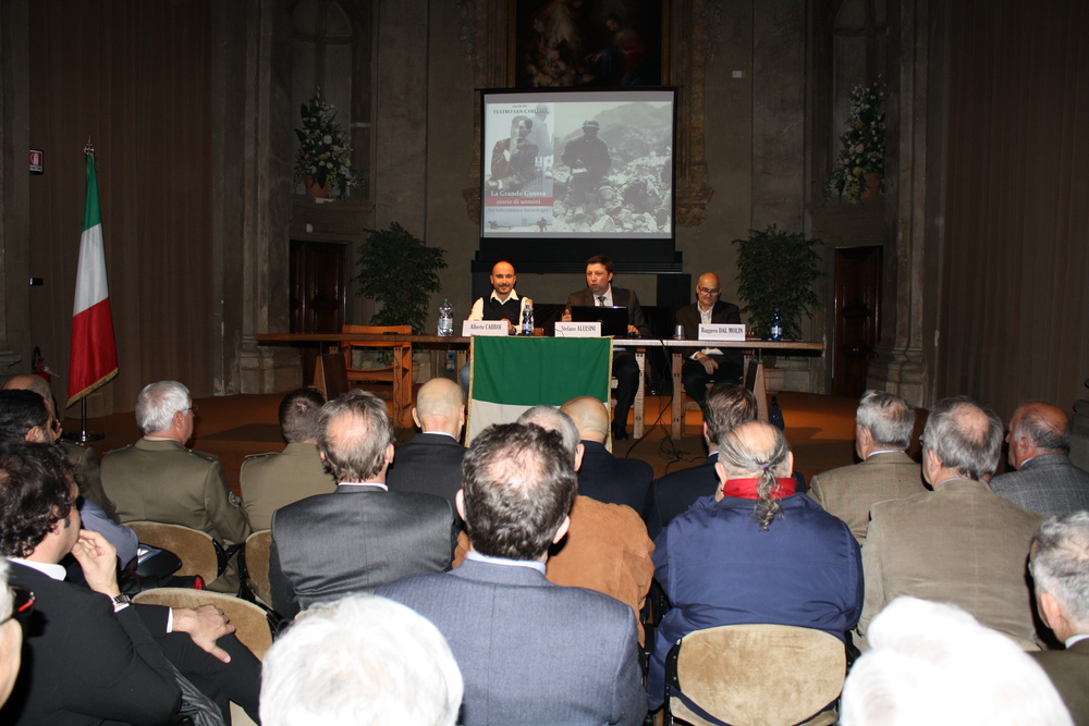Teatro San Carlino (Brescia) - incontro su Grande Guerra, letteratura e nuove tecnologie