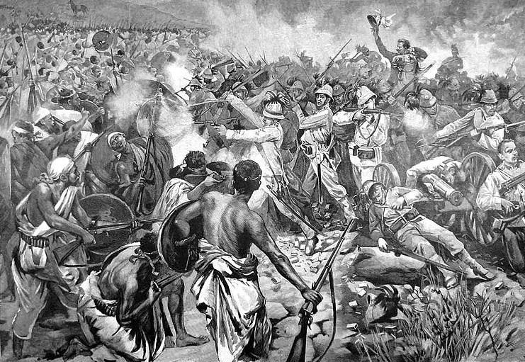 La drammatica fine del Generale Dabormida durante la battaglia di Adua del 1 marzo 1896