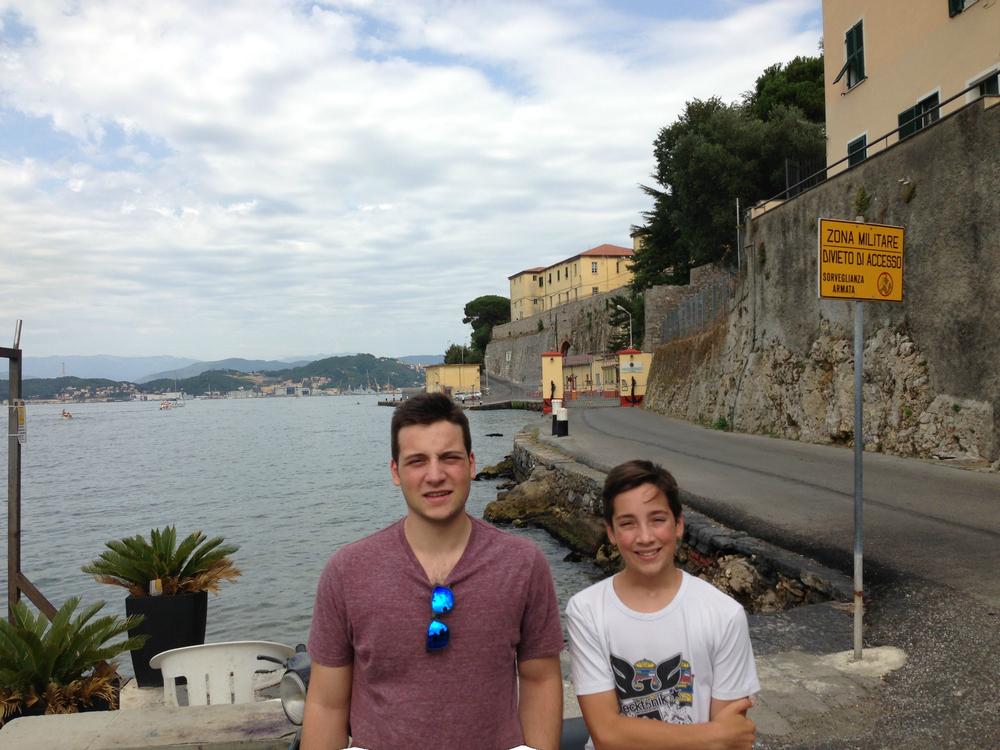 L'ingresso al Forte Varignano della Marina dalle Grazie di Portovenere (SP) sessanta anni dopo...