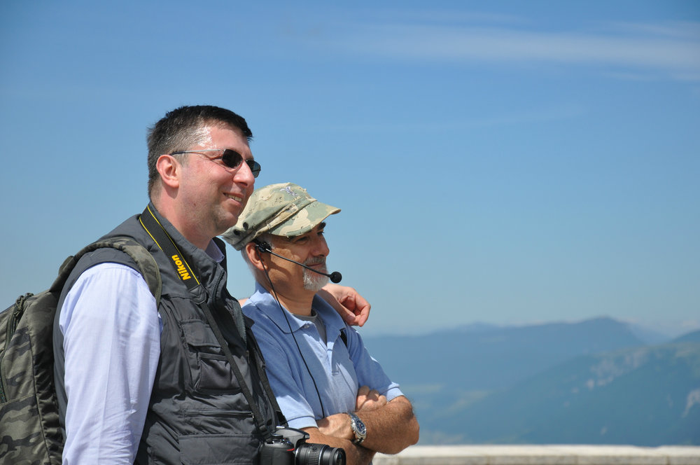 Stefano Aluisini e Ruggero Dal Molin - Monte Grappa - 17 giugno 2017