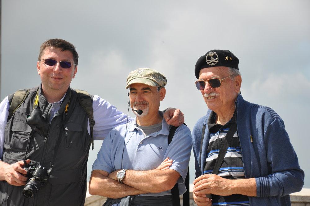 Gli autori: S. Aluisini, R. Dal Molin e E. Avaldi