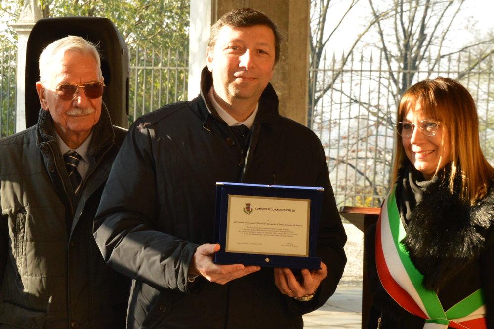 Inaugurazione mostra GLI OCCHI DELLA GRANDE GUERRA - Urago d'Oglio (BS) 1/12/2018
