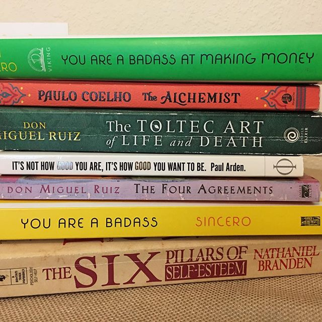 Of all the books I've read the past few years, these continue to stay on my desk and are so influential in my life.