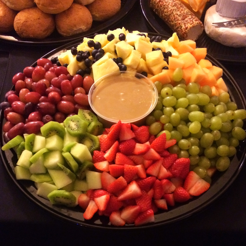 Fruit platter for Steinbach Arts Council