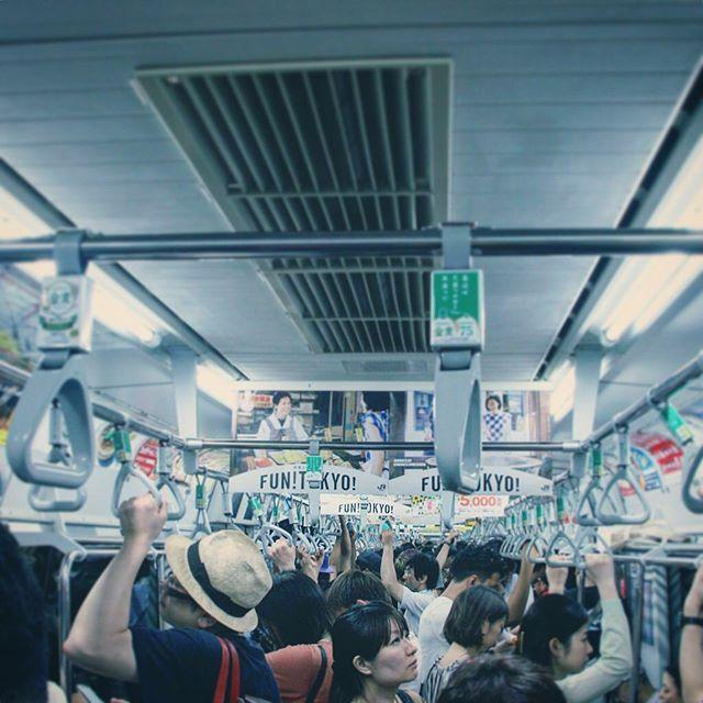 Fun Tokyo. #commute #train #japan #tokyo #travel #instatravel