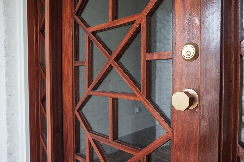 Custom Chippendale Door Detail | Tampa, FL