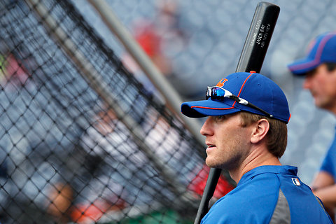 The New York Times    Mets' Bay Feeling Much Better  The Mets' clubhouse was all laughs before Saturday's game against the Yankees. Left out of the shenanigans was Jason Bay, who addressed the serious subject matter of the concussion that landed him on the disabled list.