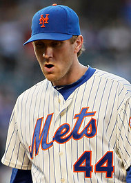The New York Times    Bay Bides His Time in Rehabilitation  PAWTUCKET, R.I. — An hour before first pitch on Saturday, the Mets pitching prospect Matt Harvey approached outfielder Jason Bay. Bay joined Buffalo to continue his rehabilitation after sustaining a concussion in mid-June.