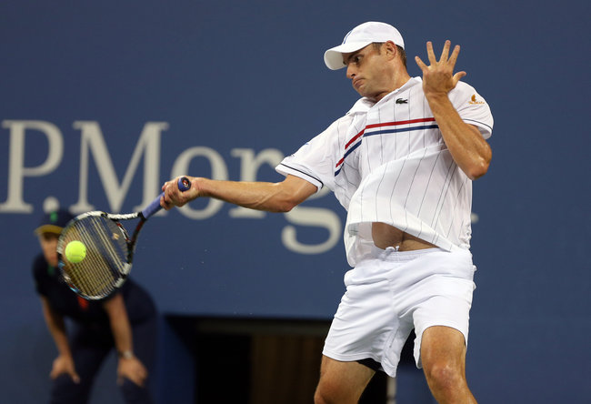 The New York Times    It's Roddick's Opponent Bowing Out  As if it were not enough to have to face Andy Roddick the day after he announced his retirement, Bernard Tomic had a tough act to follow even entering Arthur Ashe Stadium on Friday night.