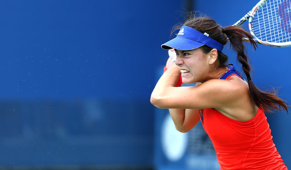 The New York Times   Determined Romanian Women Finding Success  Simona Halep's emergence has been sneaky and sudden, just like the other Romanian women on the tour. Five rank in the top 75: Sorana Cirstea (22), Monica Niculescu (42), Alexandra Cadantu (73) and Irina-Camelia Begu (74).
