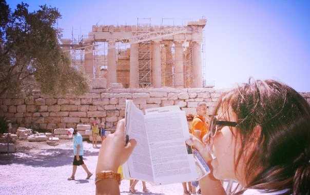 guidebook backpack greece