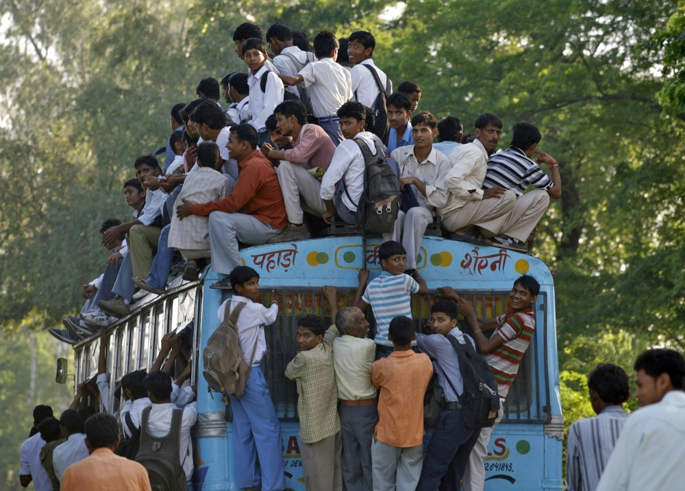 bus travel india