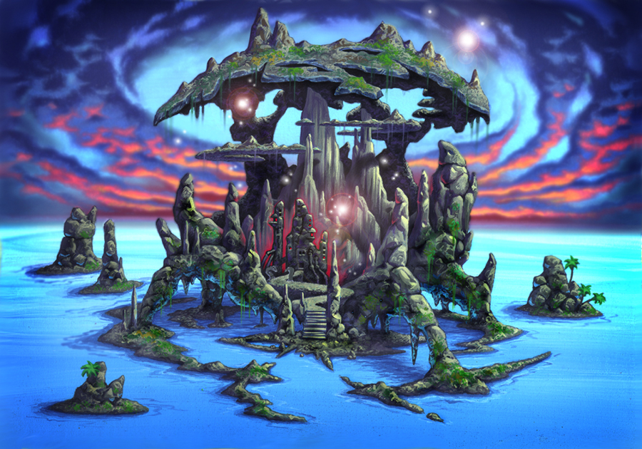 Andy Hoyos - Wizard's Island - from Sierra's King's Quest V: Absence Makes the Heart Go Yonder (1990)