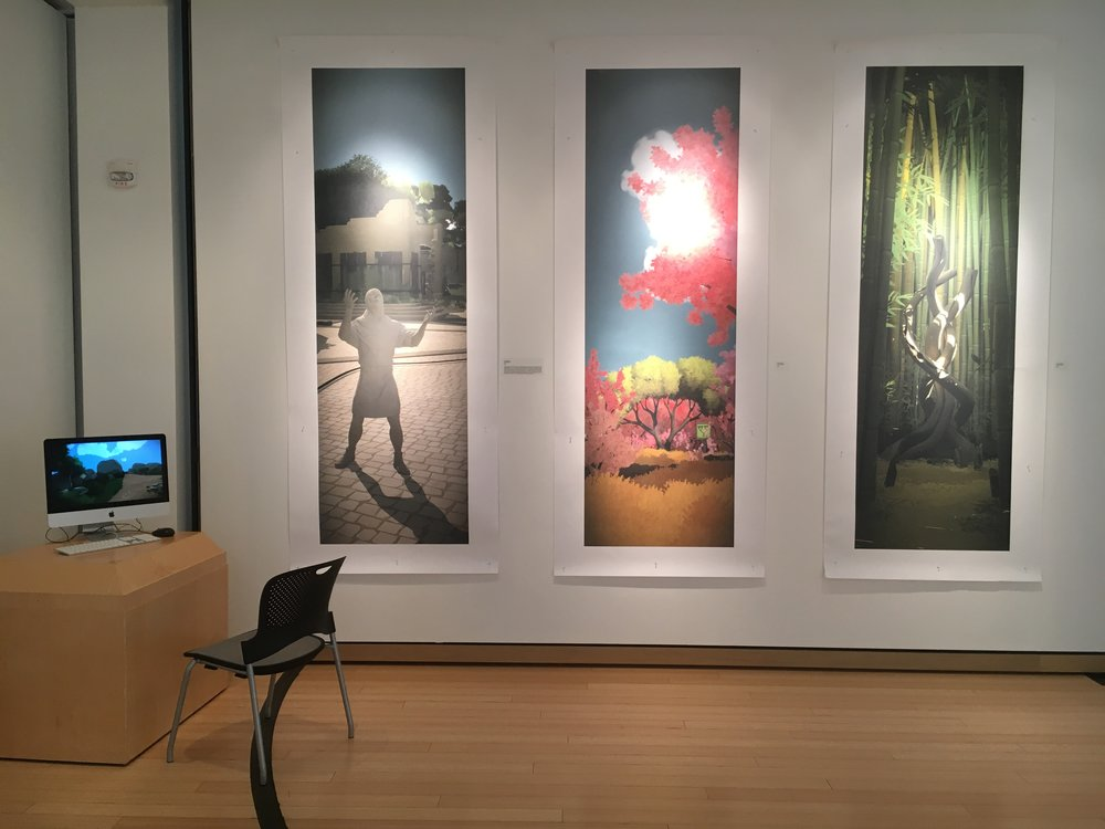 Installation shot courtesy of the Christian Petersen Museum