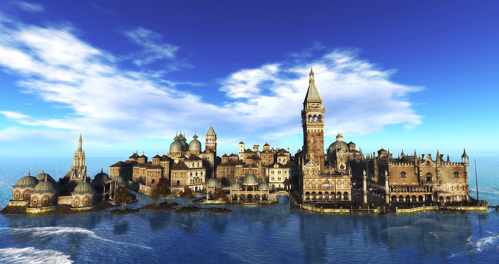 Credit: Virtual Venice in Second Life, Courtesy of Linden Lab 2014.