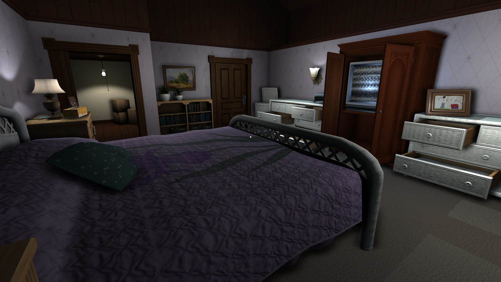 Gone Home , Bedroom, 2013. Image courtesy of The Fullbright Company.