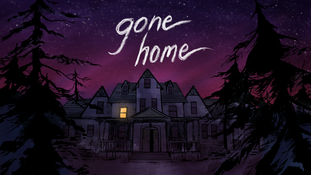 Gone Home , 2013. Image courtesy of The Fullbright Company.