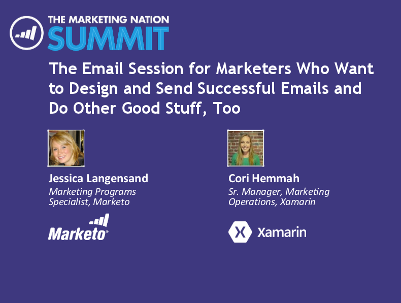 Marketo Summit Presentation - April 2014