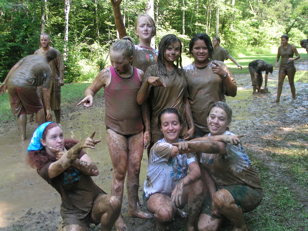 "Some ""Off the Wall"" Youth at Summer Camp! Mud Wars!"