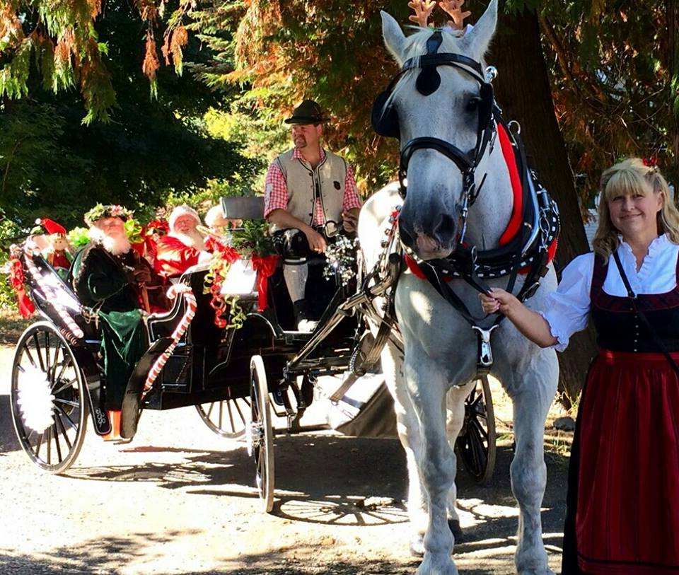 """I hope this ensures HC Andersen Carriage Company gets put on Santa's """"Nice"""" List :)"""