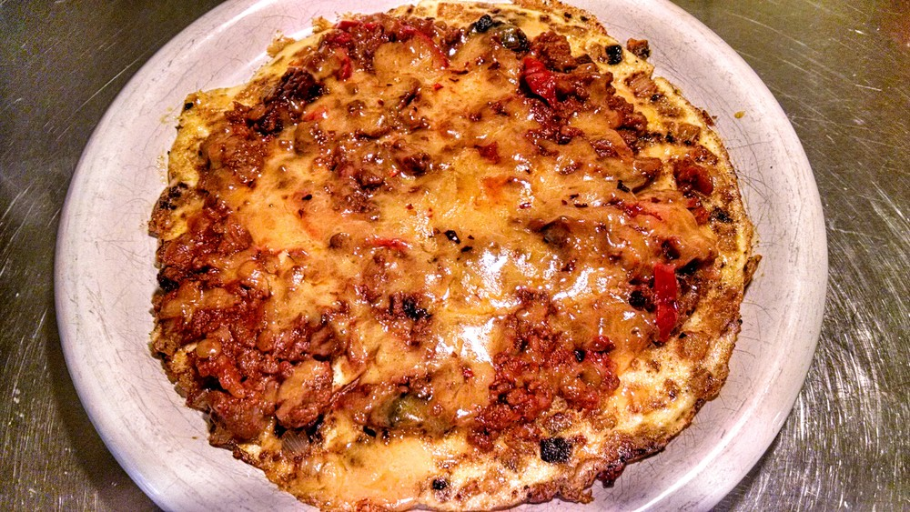 A Homefry, Onion, Chilli and Cheddar Cheese Frittata - Oh, My!