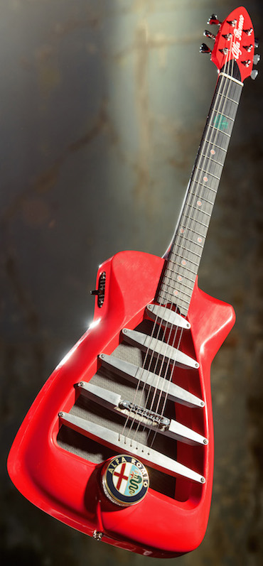 The Alfa Romeo Guitar by Harrison Guitars