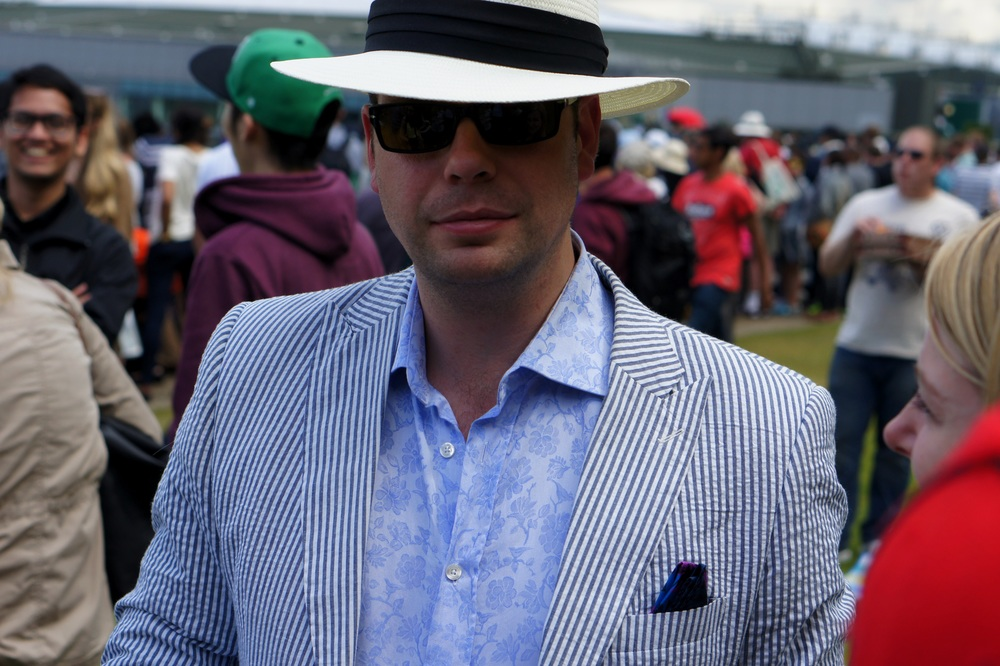 Fedora, Persols, Pocket Square, Sorted.