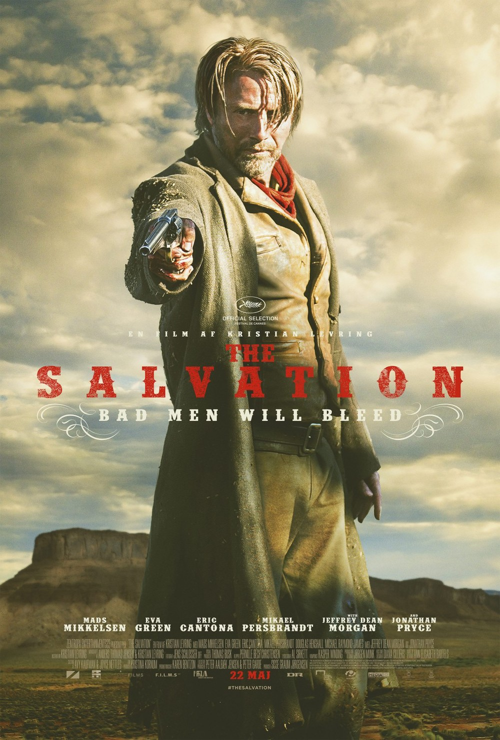 The Salvation poster. From Moviezine.se.