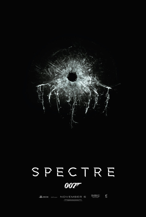The wonderful Spectre announcement poster. Excellent use of the old Spectre logo.