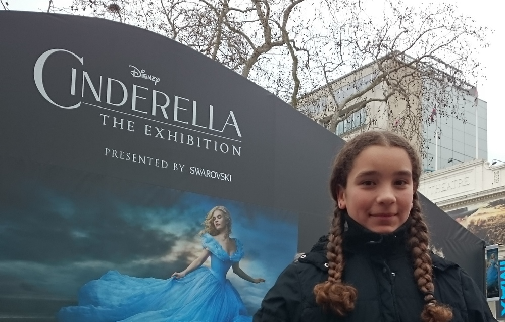 My Girl on our Cinderella day out.