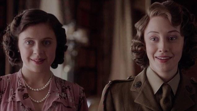 Powley and Gadon as Margaret and Elizabeth