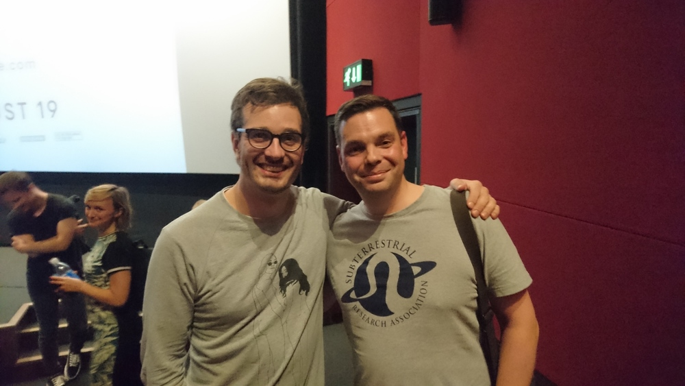 David Farrier and Me at the Picture House Central screening.