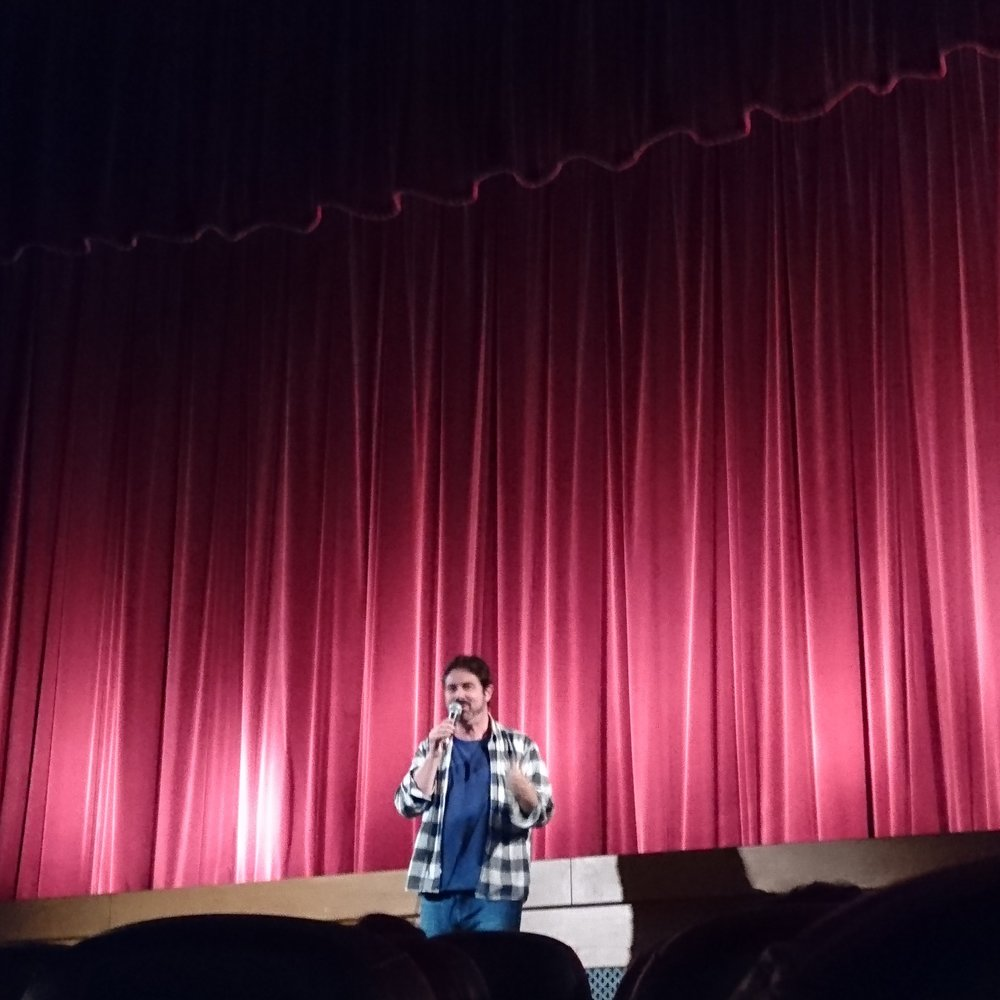Zach Galligan onstage at the wonderful Prince Charles Cinema - 04/12/16