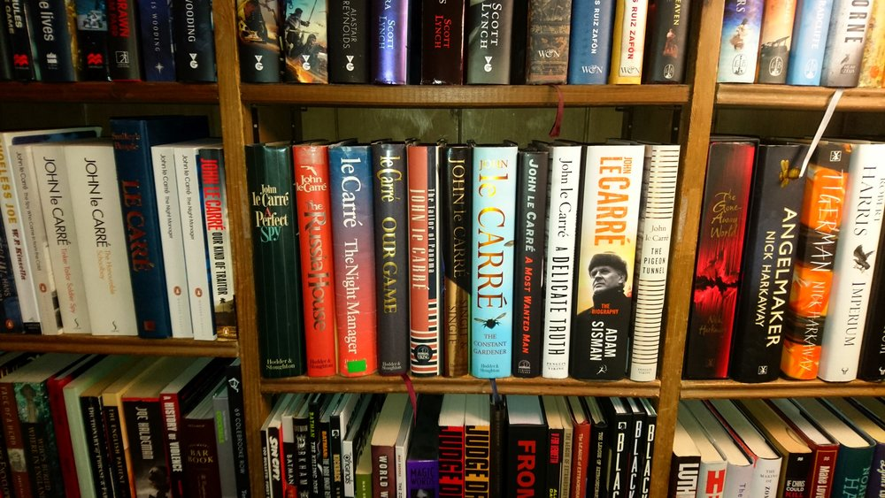 The Le Carre/Harkaway Shelf