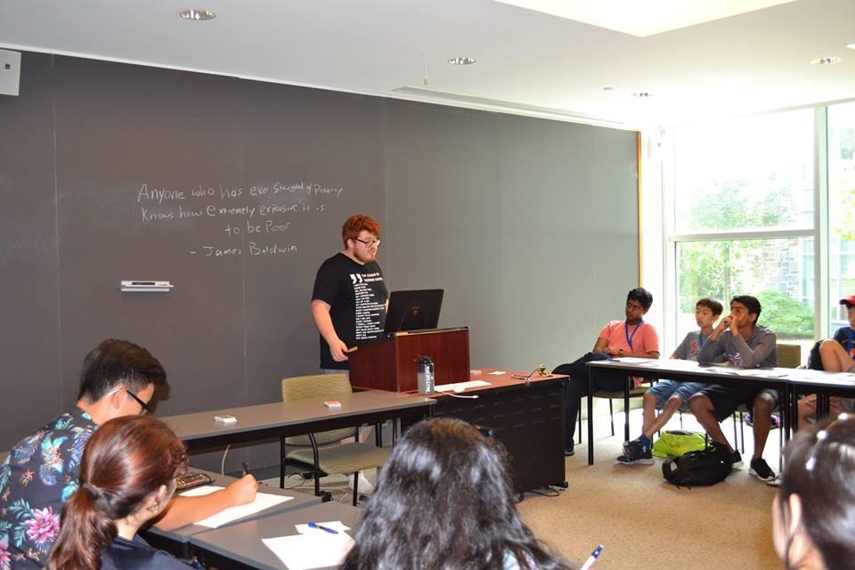 VBI Instructor Christian Quiroz teaches an elective at VBI Philadelphia