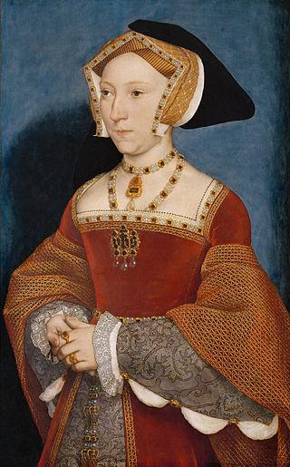 Portrait of Jane Seymour c. 1537. Oil and tempera on oak, Kunsthistorisches Museum, Vienna.