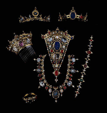 The Devonshire Parure, Attributed to Hancock c.1855, Chatsworth House, Devonshire, England