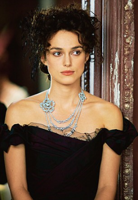 Keira Knightley in Chanel jewelry, in  Anna Karenina  (2012)