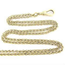 Victorian 14K Gold Long Chain, available in our online shop.