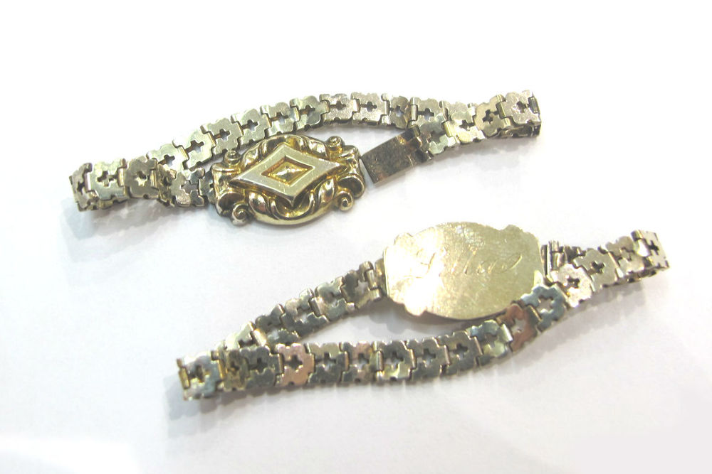 Victorian pair of baby bracelets, at Gray & Davis.