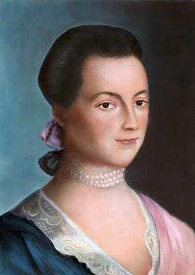 First Lady Abigail Adams.