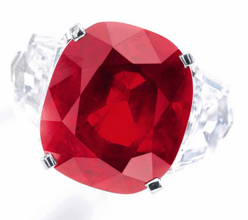 Above image the 'Sunshine Ruby'