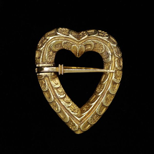 Gold Brooch c. 1400, probably France or England. Victoria & Albert Museum.