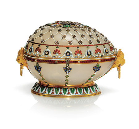 Renaissance Easter Egg Jewelry Box, 1894.