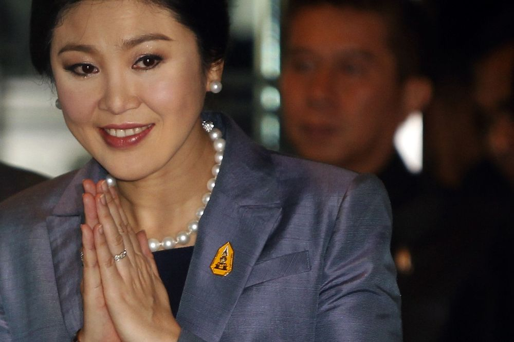 Yingluck Shinawatra, Prime Minister of Thailand from 2011 - 2014.