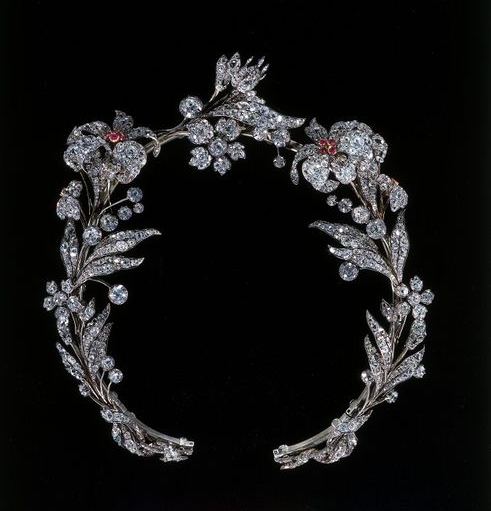 Western European diamond tiara c. 1835