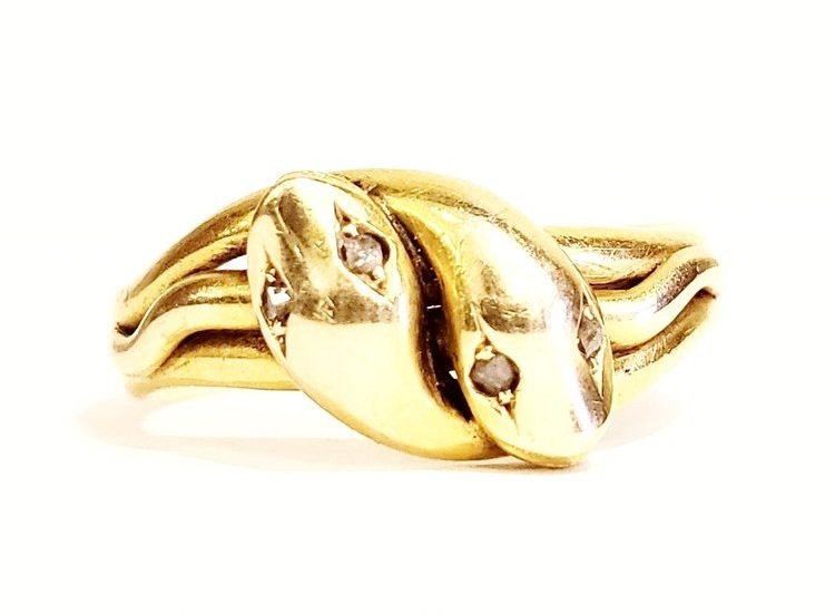 Double Snake Ring, c. 1879