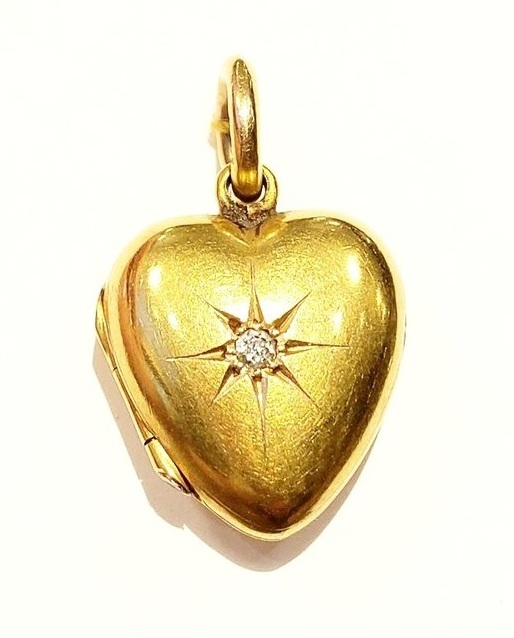 Heart Locket, late 19th Century