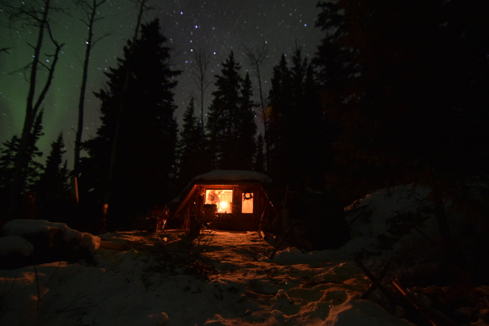The Sun lodge cabin where our guests stay is a great place to observe a starry night sky.