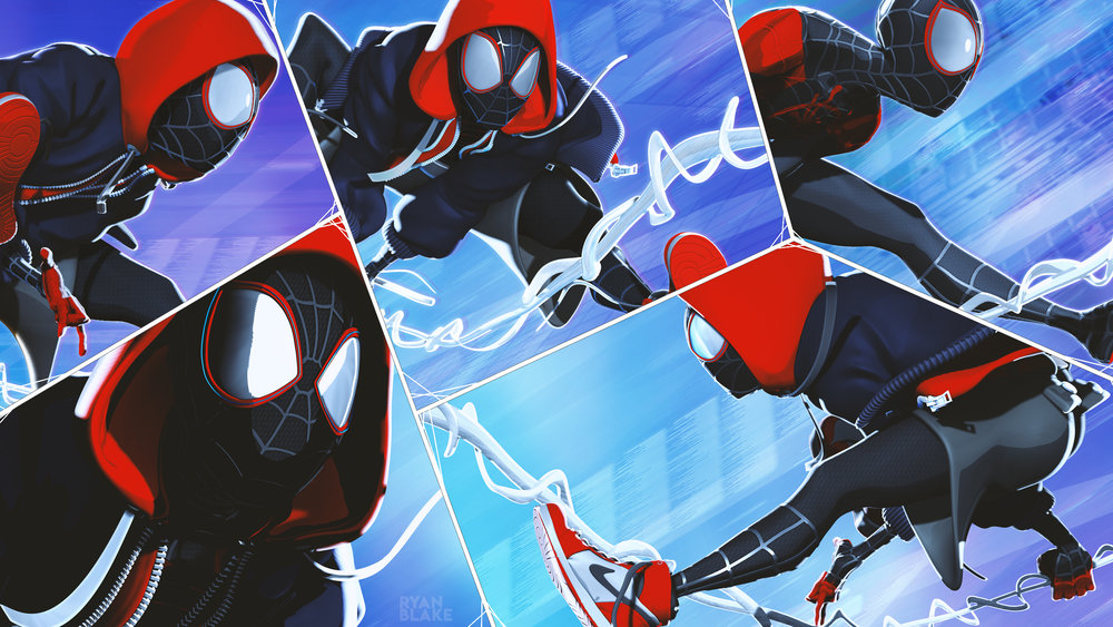 INTO THE SPIDERVERSE - FAN ART